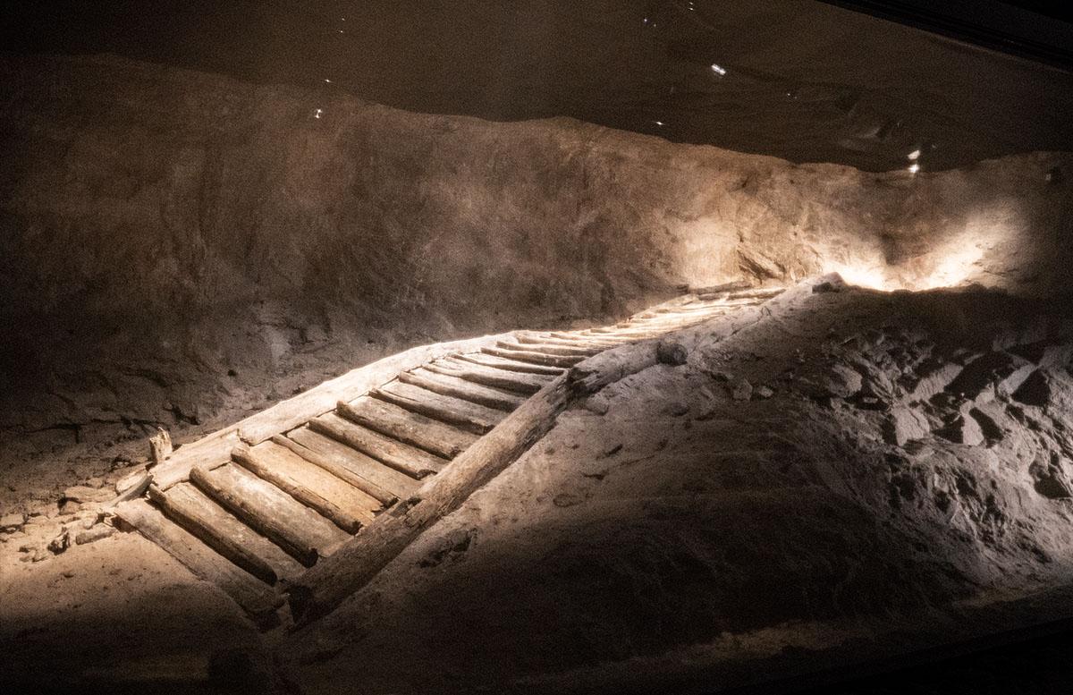 Salzwelten Hallstatt - Das älteste Salzbergwerk der Welt bergwerk älteste stiege europas
