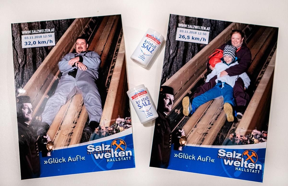 Salzwelten Hallstatt - Das älteste Salzbergwerk der Welt erinnerungsfoto
