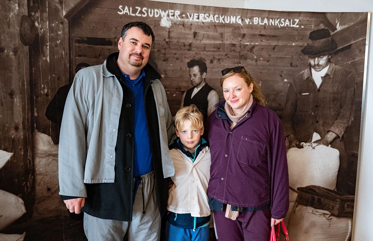 Salzwelten Hallstatt - Das älteste Salzbergwerk der Welt familiebild