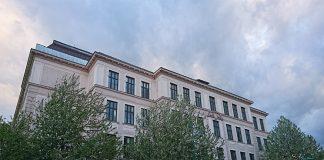 Schulplatz an der ILB