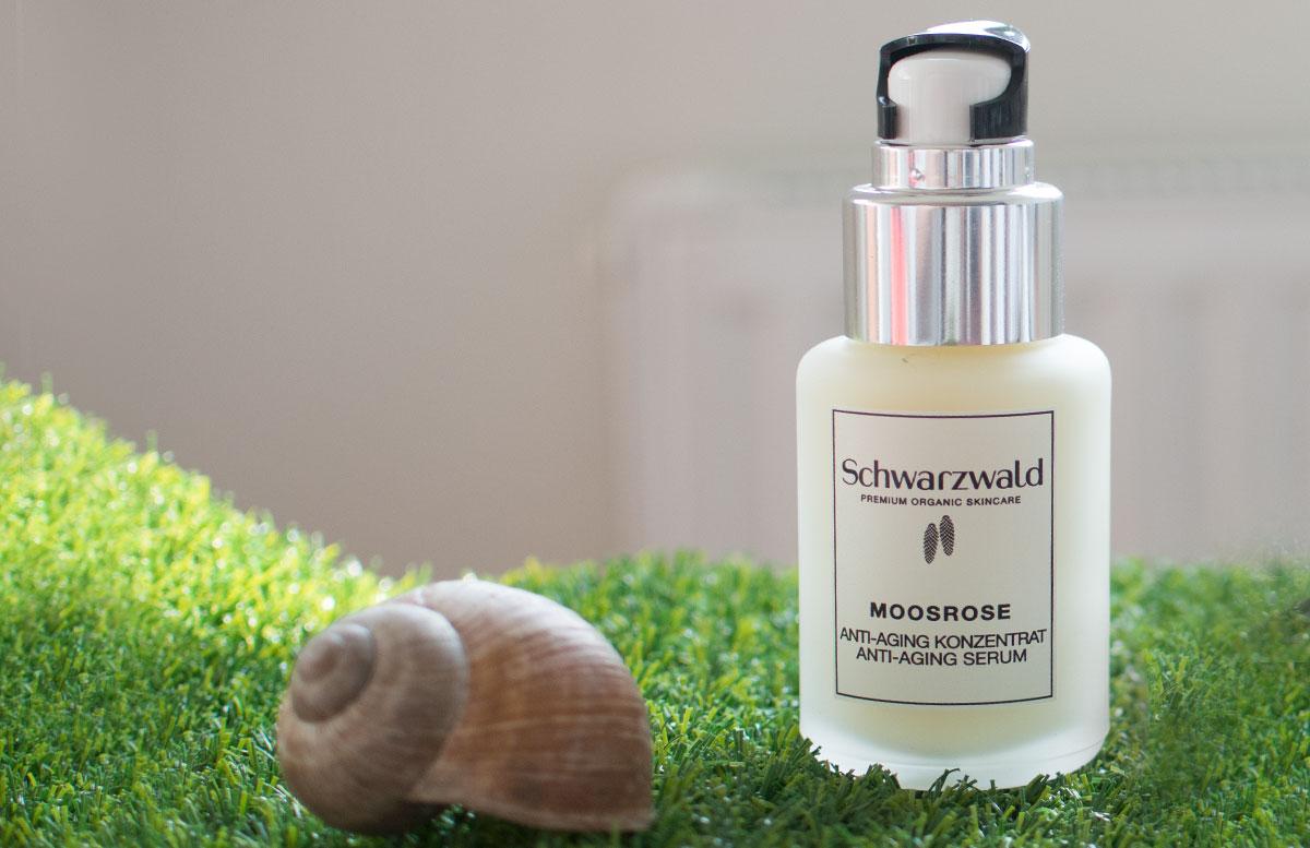 Schwarzwald Naturkosmetik - das Wundersekret Schneckenschleim produkte moosrose