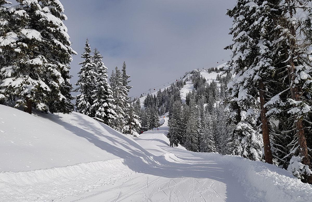 Ski amade - made my Day Aufladen in Dorfgastein piste yoga abfahrt