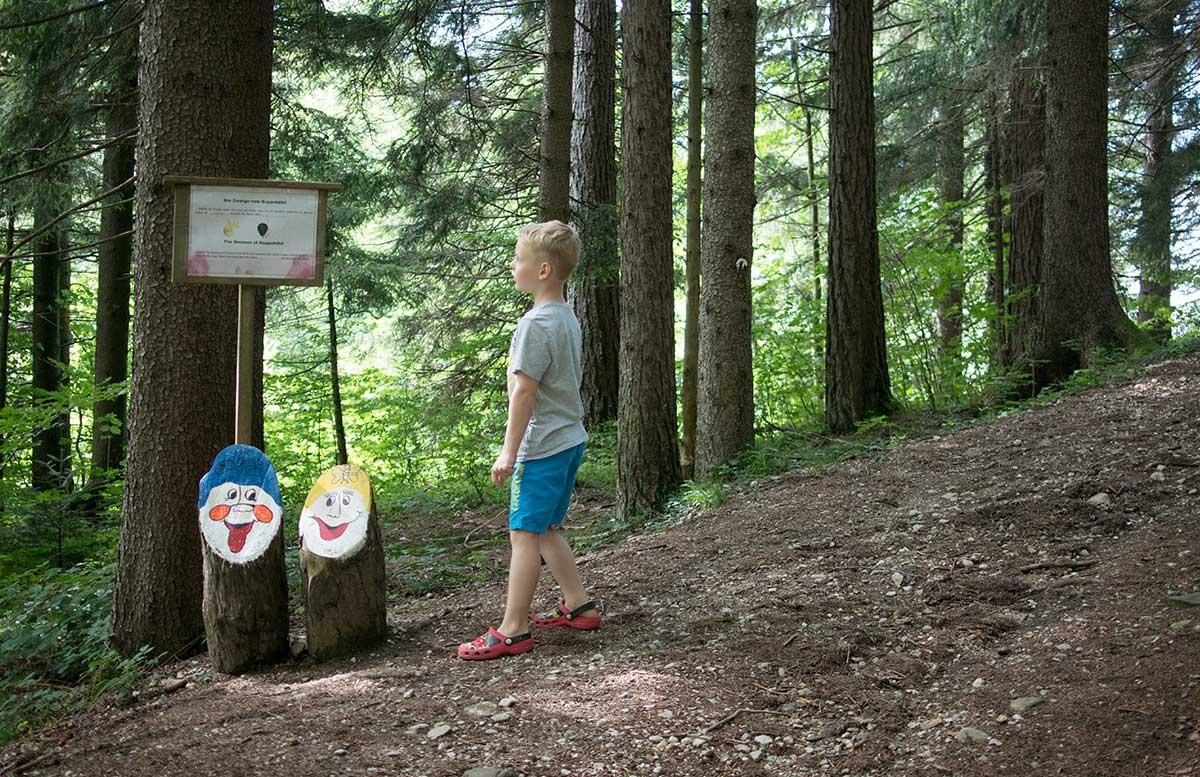 Sommerrodeln-in-Fuschl-und-der-Waldkletterweg-in-Faistenau-rumingmühle-wanderung