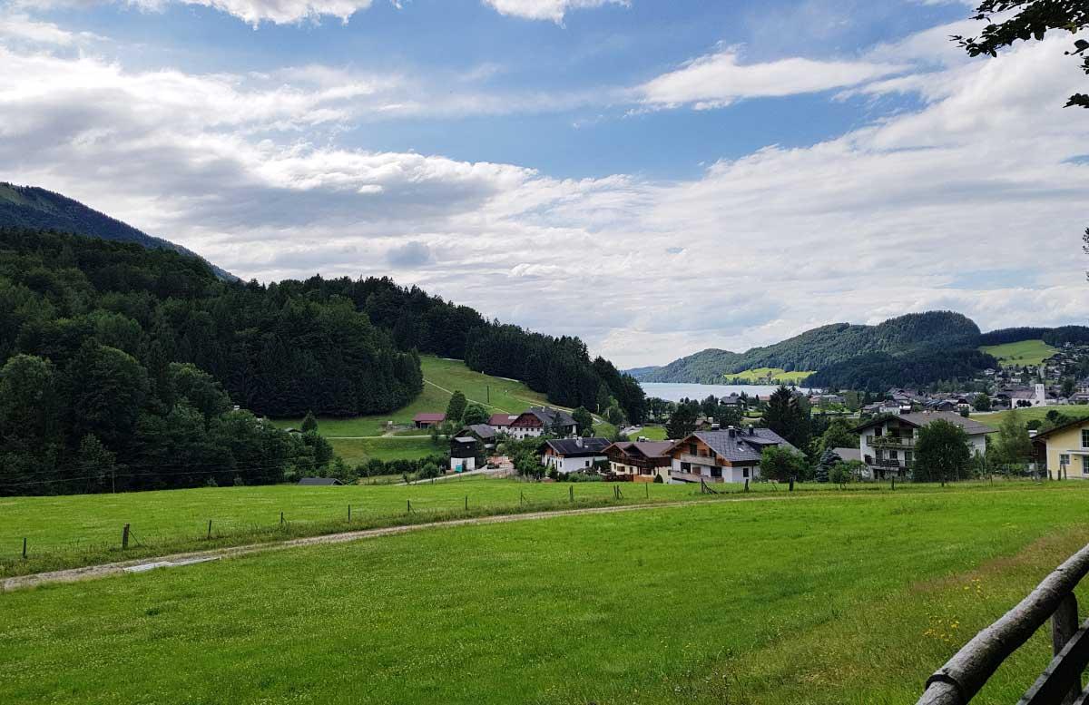 Sommerrodeln in Fuschl und der Waldkletterweg in Faistenau landschaft