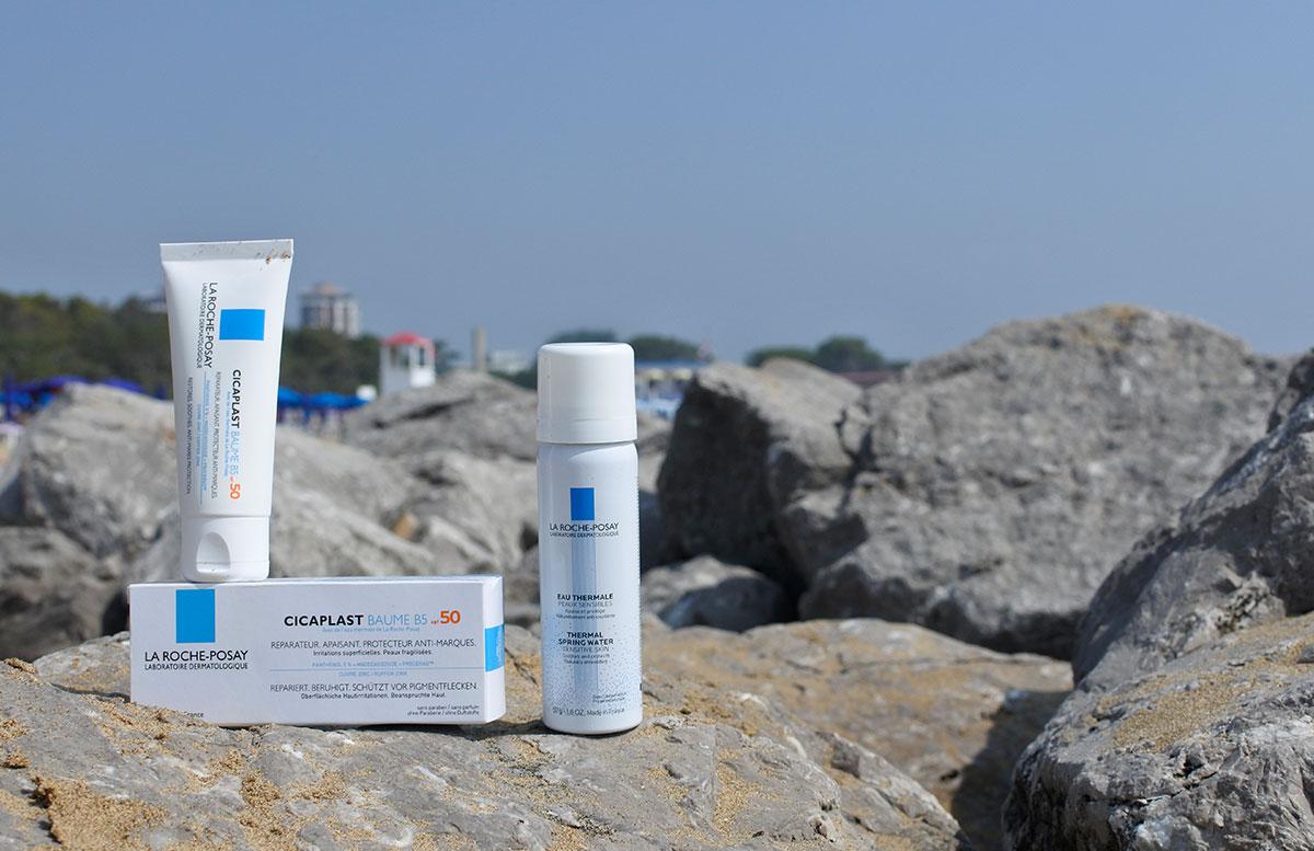 Sonnenpflege von La Roche-Posay strand lignano cicaplast b5 thermalspray