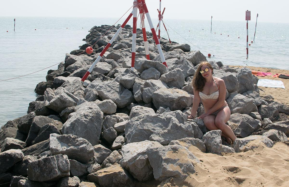 Sonnenpflege-mit-La-Roche-Posay-lignano-strand