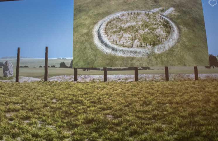 Stonehenge-Ausstellung--stonehenge-alte-tontoepfe-grabstaette