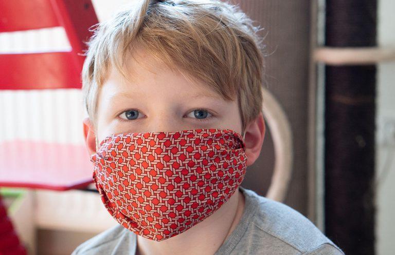 Stylische Mundschutzmasken ohne Nähen