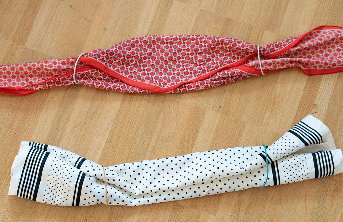 Stylische-Mundschutzmasken-ohne-Nähen-gummiringerl