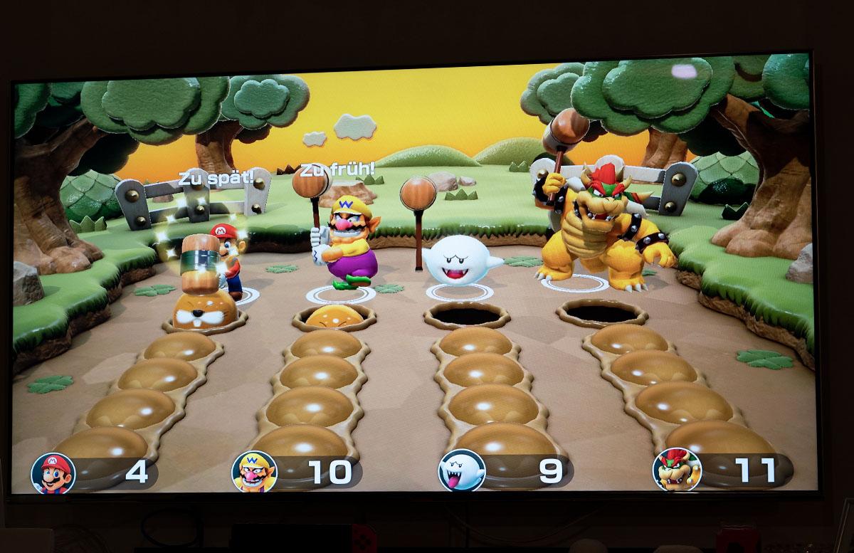 Super Mario Party für die Nintendo Switch party maulwurf
