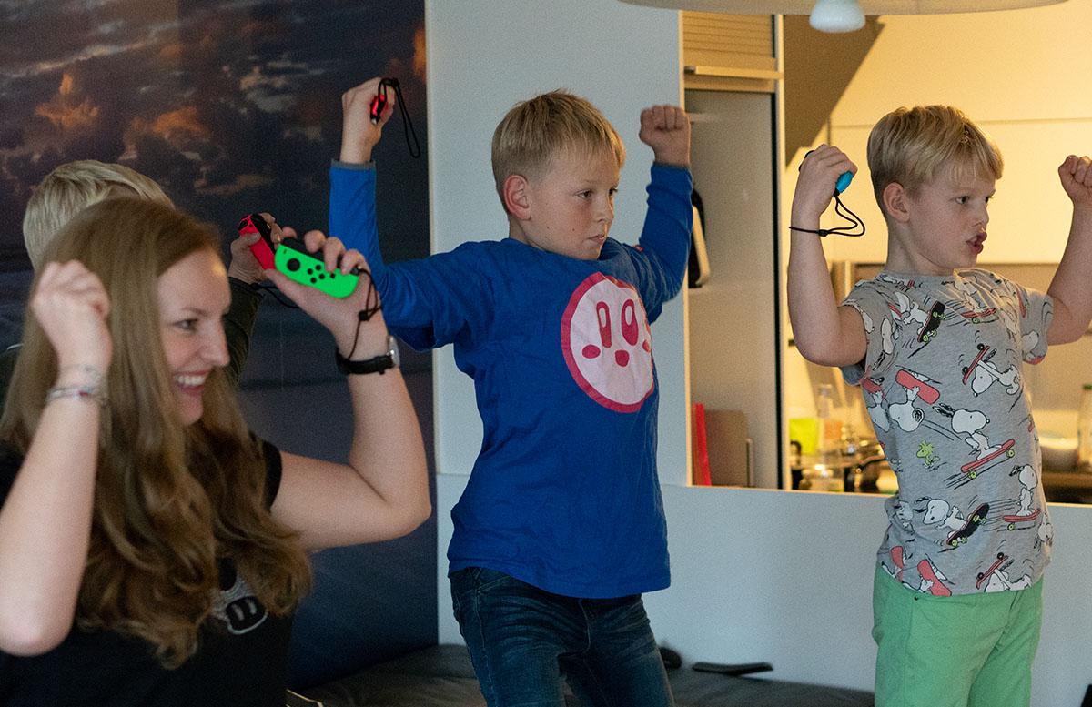 Super Mario Party für die Nintendo Switch party tanzen action