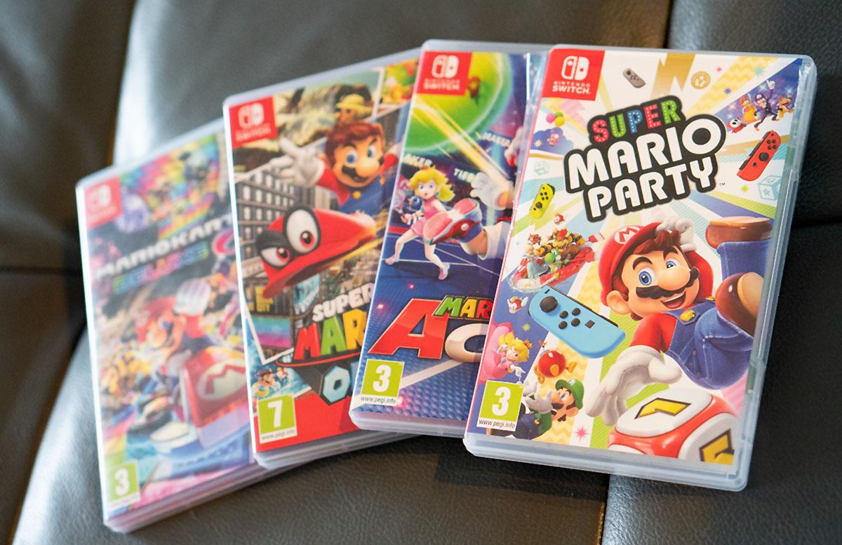 Super Mario Party für die Nintendo Switch