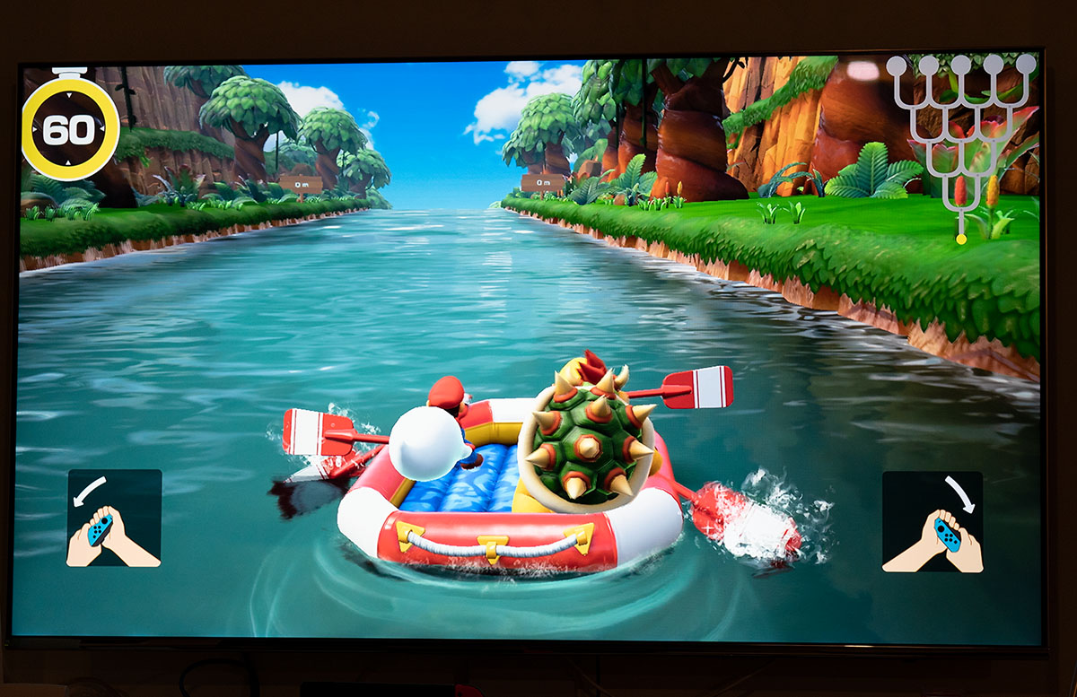 Super Mario Party für die Nintendo Switch party rudern