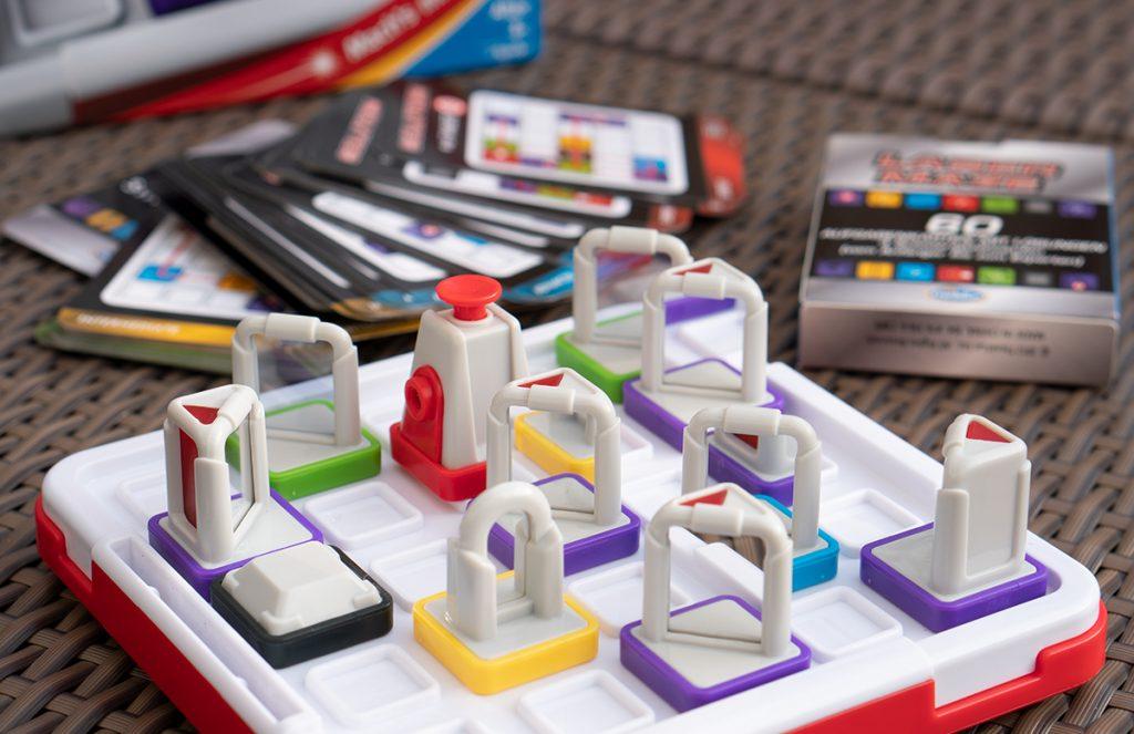 Thinkfun Laser Maze und Circuit Maze Logikspiele spiegel