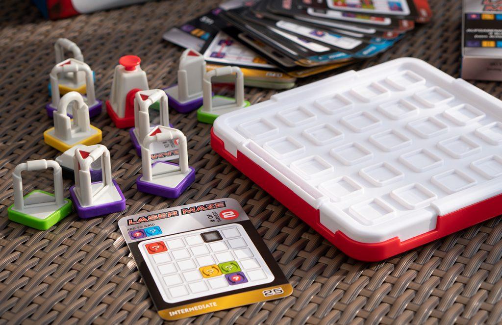 Thinkfun Laser Maze und Circuit Maze Logikspiele spiegel inhalt