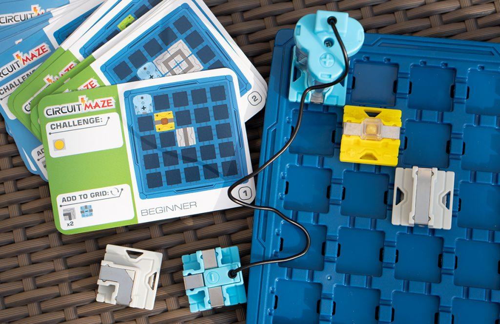 Thinkfun Laser Maze und Circuit Maze Logikspiele leitung