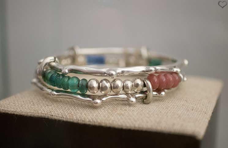 Uno-de-50-Sommerkollektion-armband-bunte-perlen-jellyfish