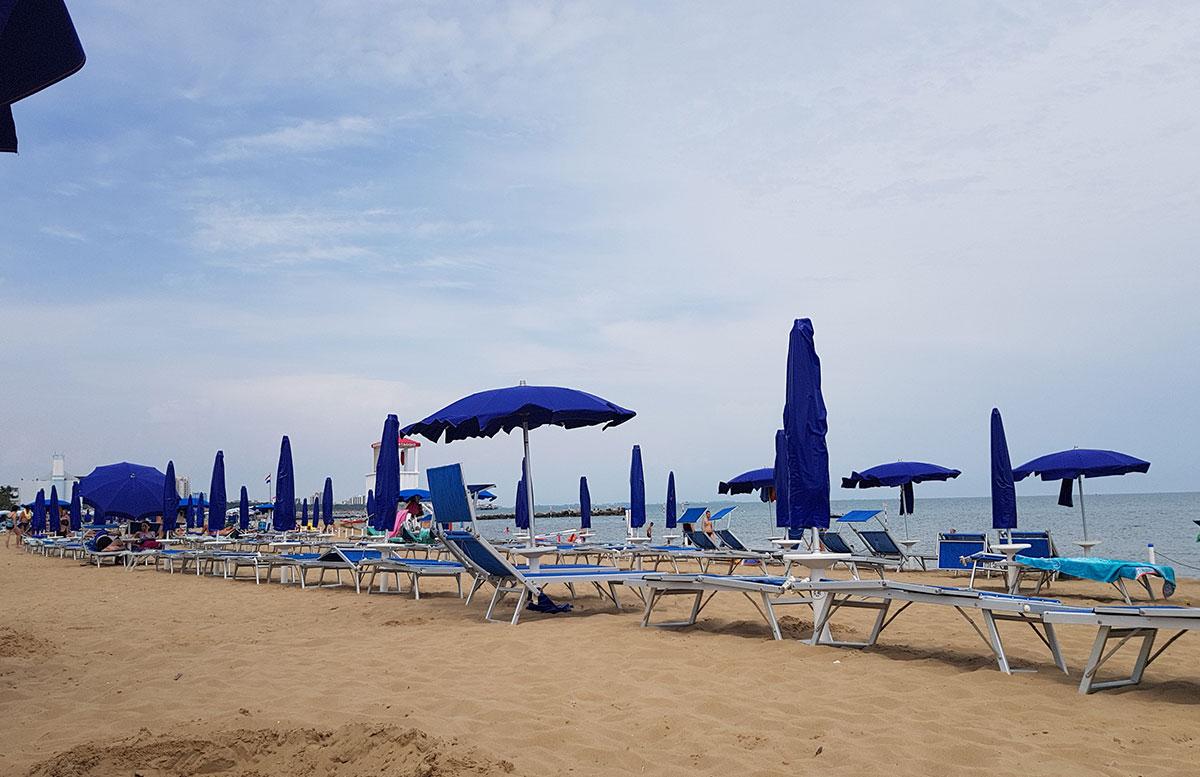 Urlaub-in-Lignano-Hotel-Meridianus-strandabschnitt