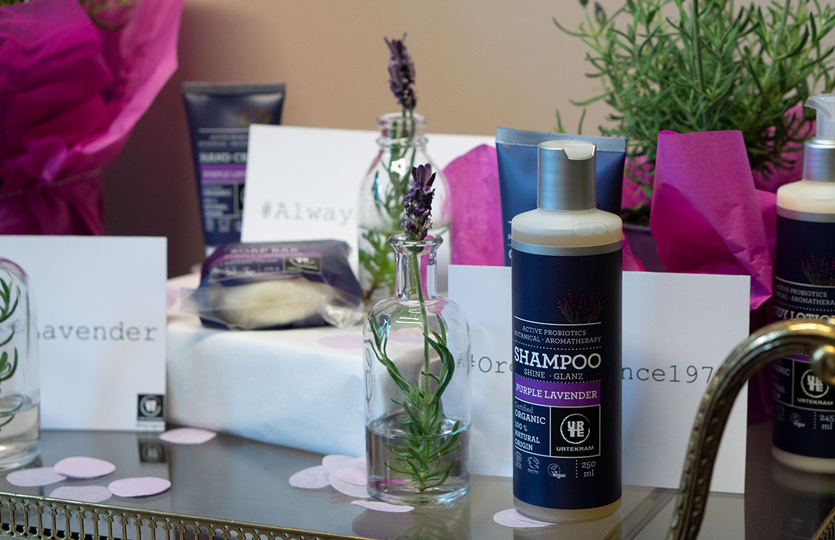 Urtekram Purple Lavender Bio Kosmetik Pflegelinie