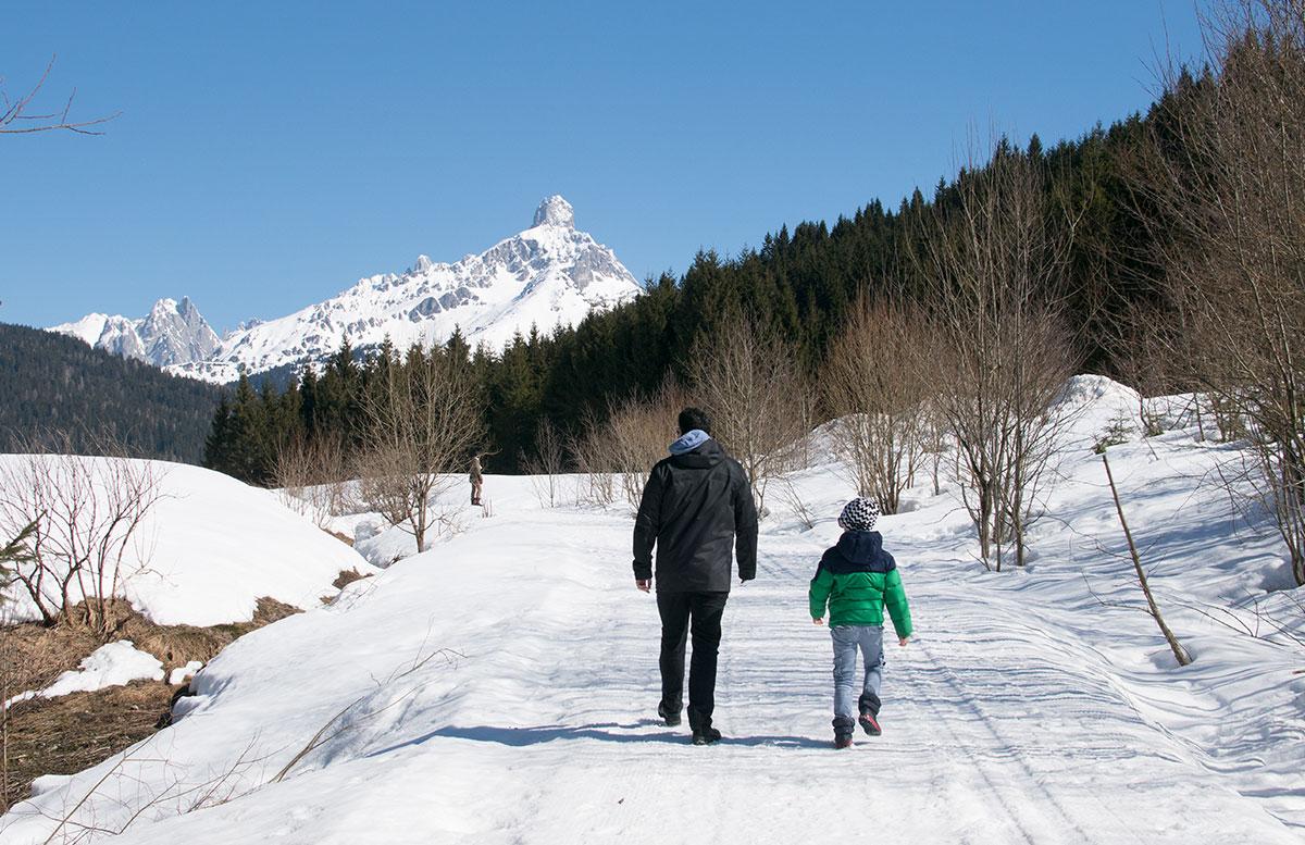 Walchhofer's Hotel Alpenhof in Filzmoos spazierengehen