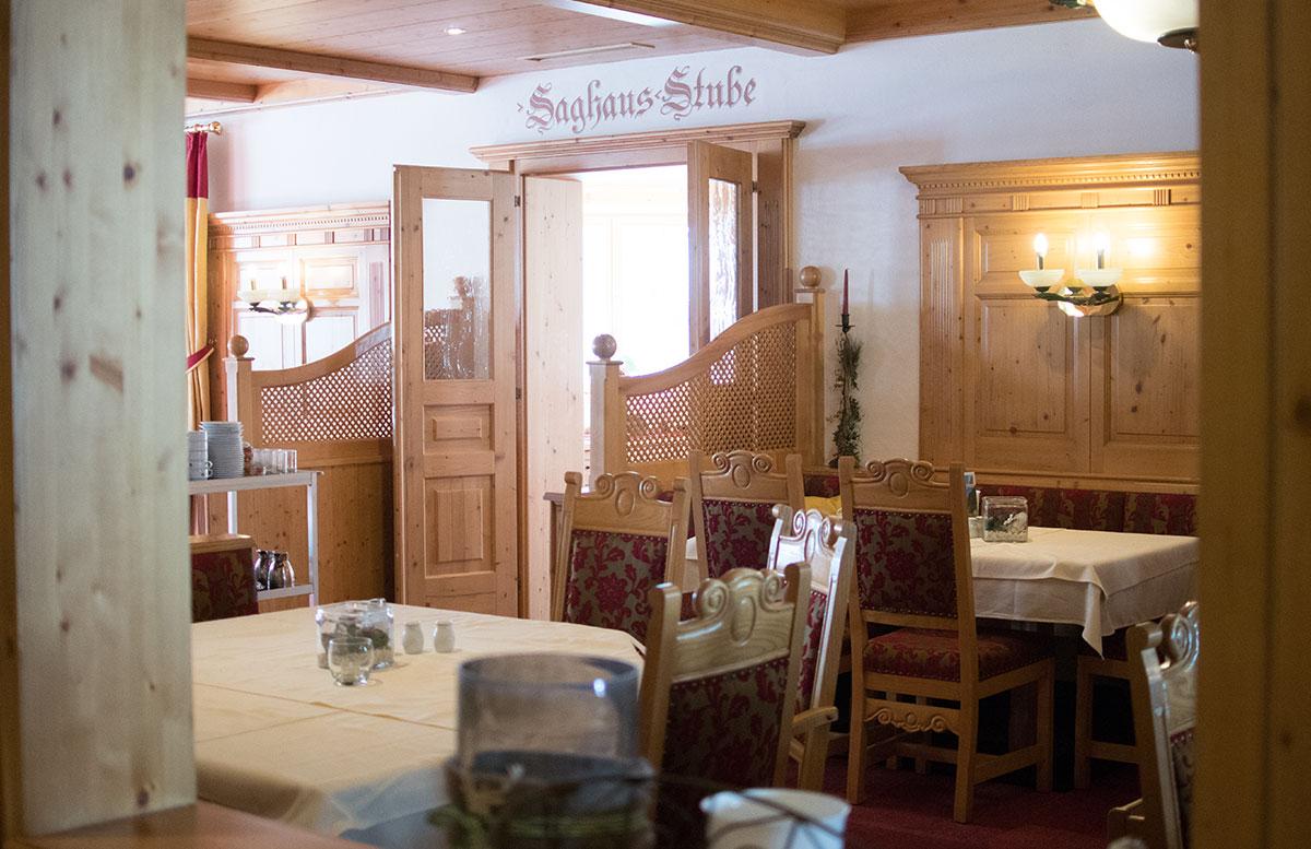 Walchhofer's Hotel Alpenhof in Filzmoos stube essen