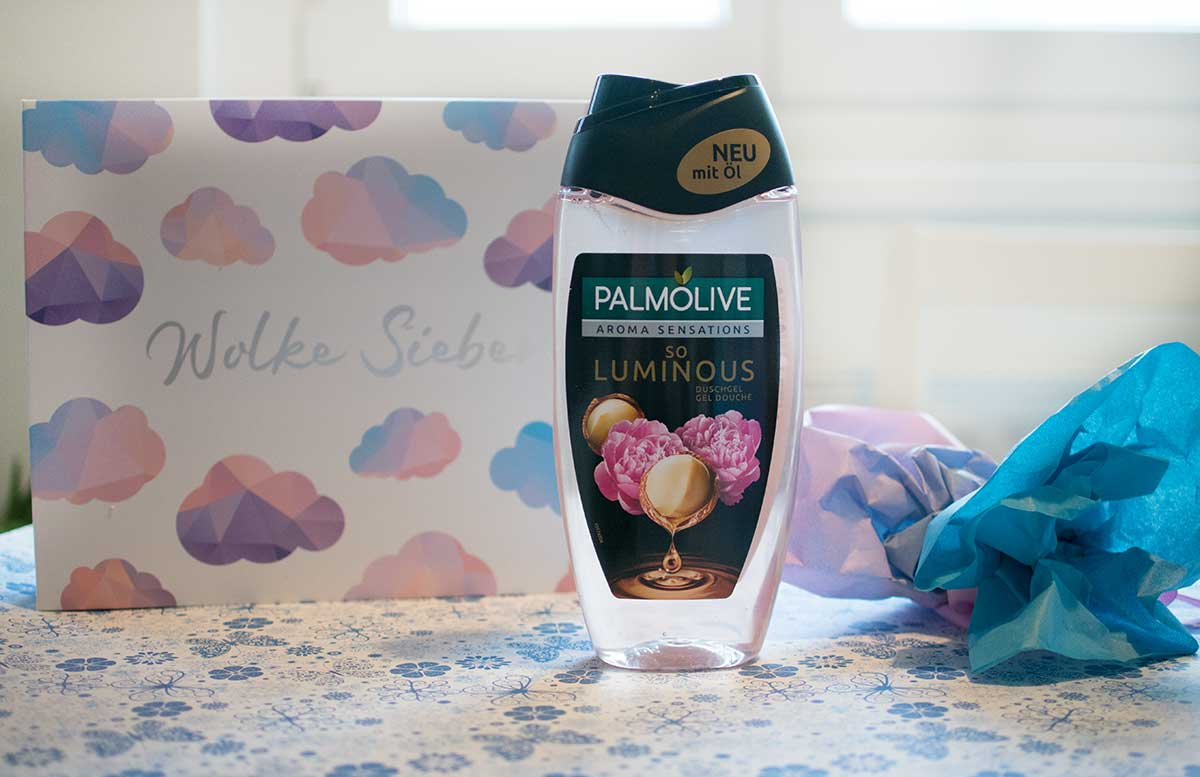 Wolke Sieben Glossybox Februar alle produkte palmolive duschgel