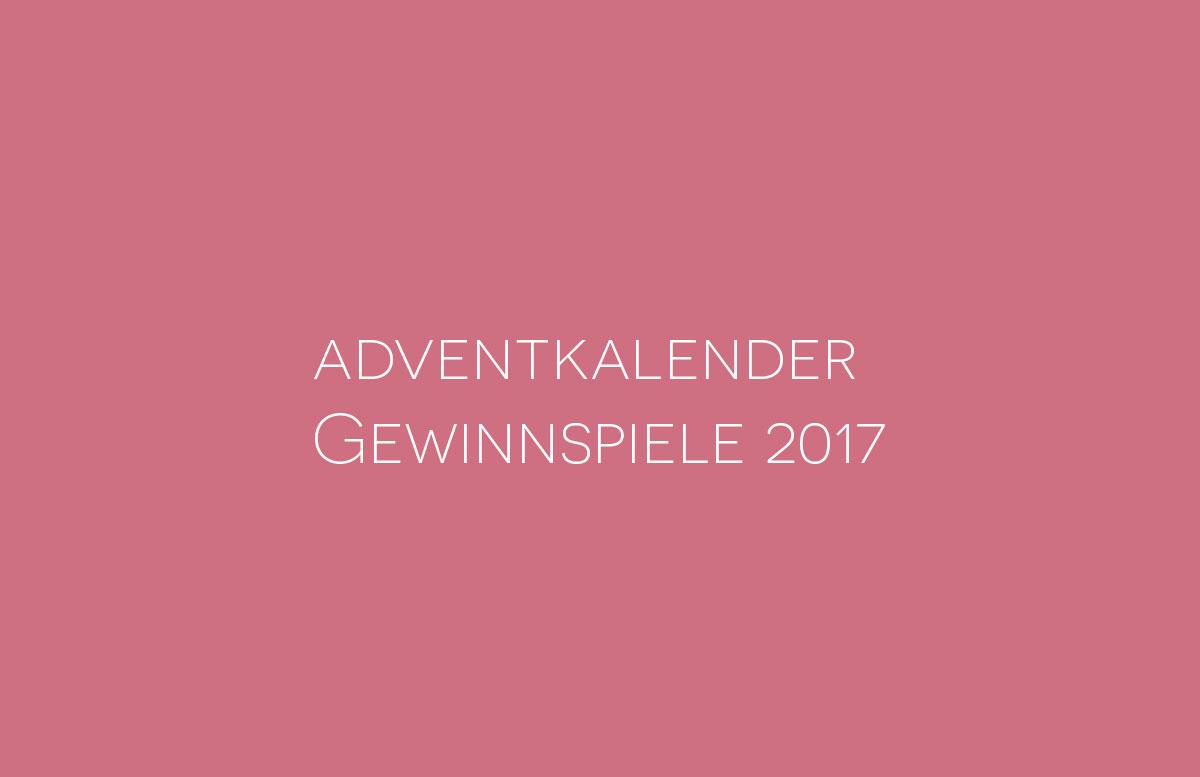 Adventkalender Gewinnspiele 2017 Vickyliebtdich