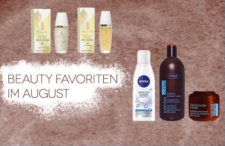 Beauty Favoriten im August