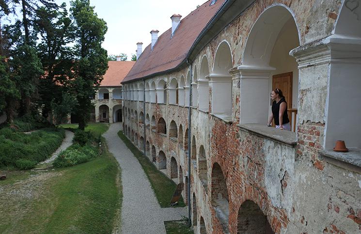 Übernachtung in der Burg Grad