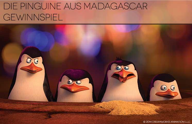 DIE PINGUINE AUS MADAGASCAR Gewinnspiel