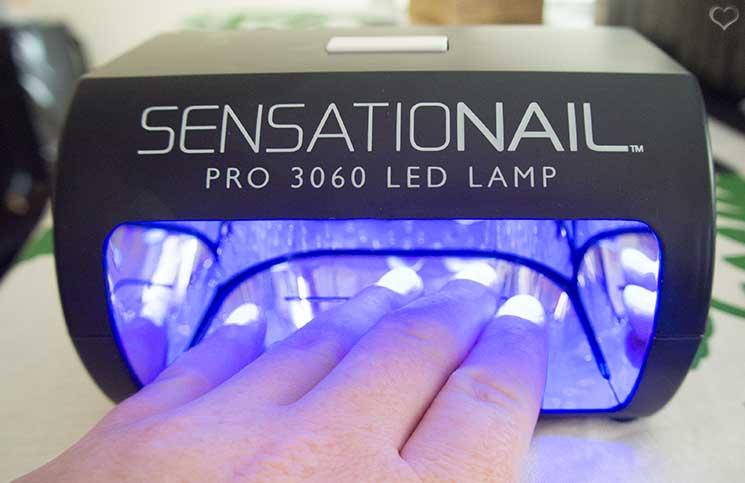 sensationail gel lampe