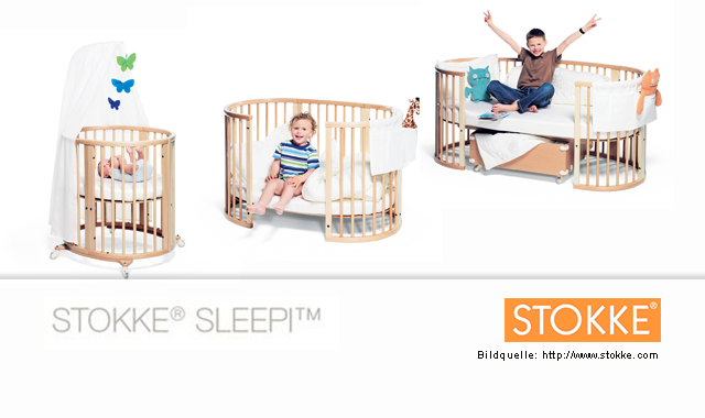 stokke sleepi das wandelbare bett vickyliebtdich. Black Bedroom Furniture Sets. Home Design Ideas