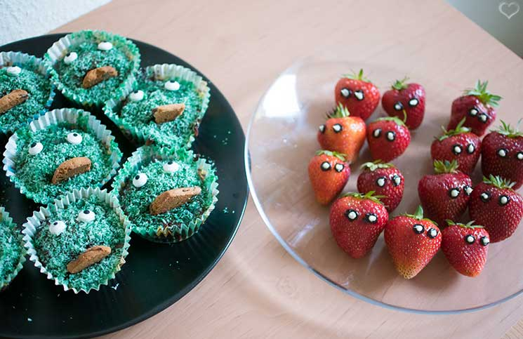 superheroes-Kindergeburtstag-mit-der-Pixolino-Box-hulk-monster-und-spiderman-erdbeeren