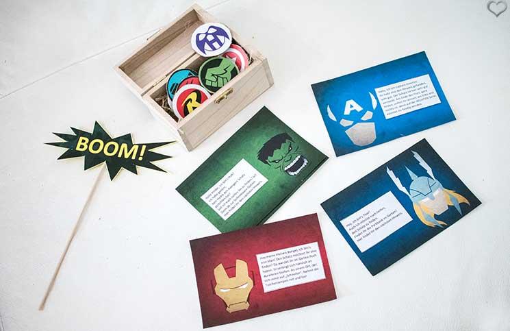 superheroes Kindergeburtstag-mit-der-Pixolino-Box-schatzsuche-superheroes