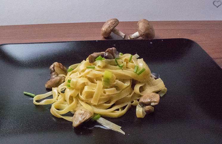 Schnelle Fettuccini aus der Pfanne Hello Fresh