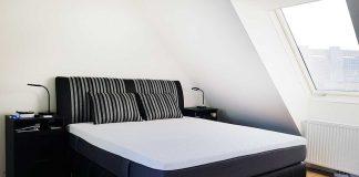 Unsere Neue Wohnung Schlafzimmer Mit Dachschrage