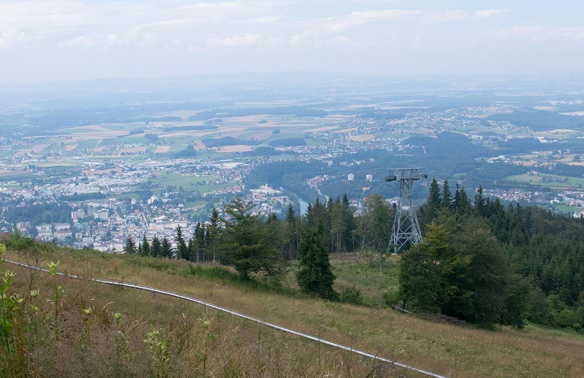 Ein Wochenende in Gmunden - Wandern am Grünberg sommerrodelbahn aussicht gmunden
