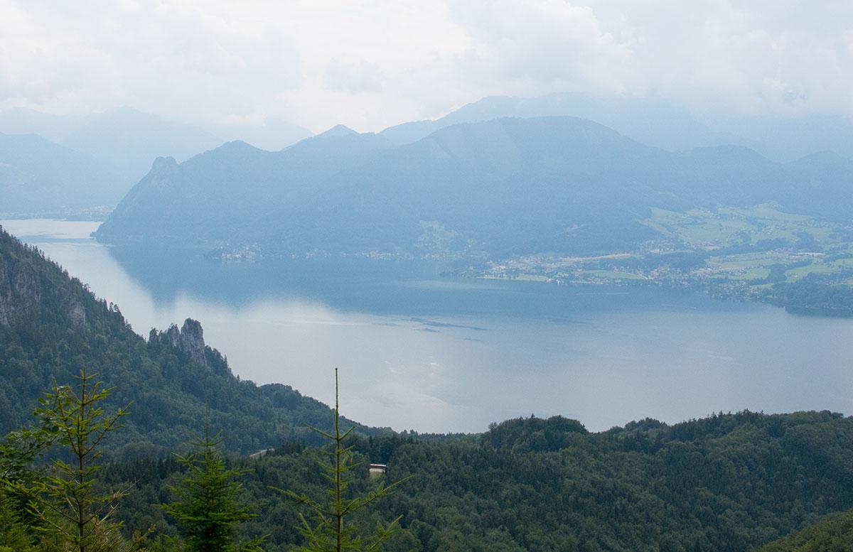wandern-am-grünberg-in-gmunden-traunsee-von-oben