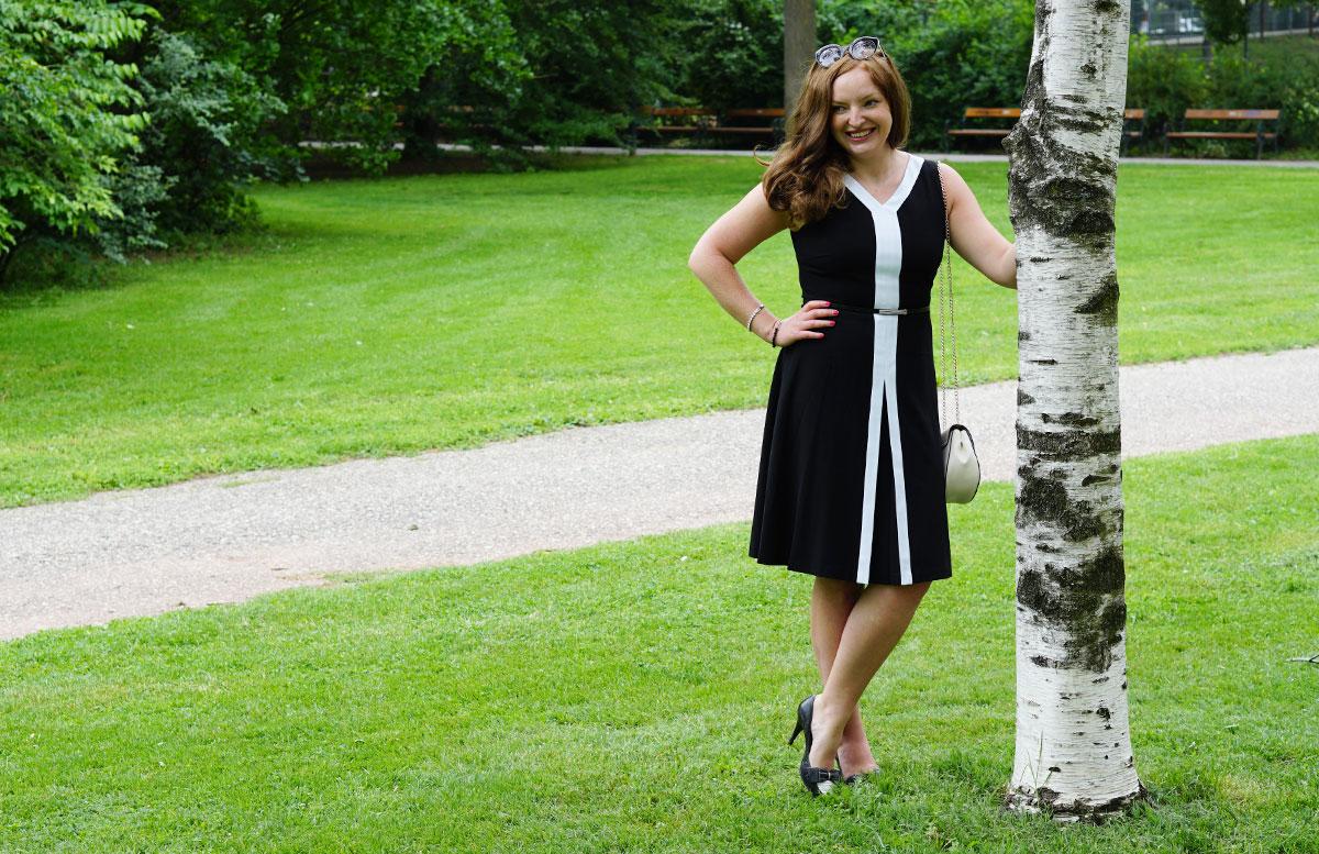 Was bedeutet Glück für mich? orsay mantel kleid detail