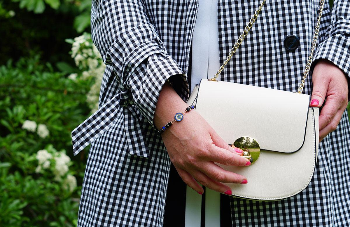 Was bedeutet Glück für mich? orsay mantel stehend tasche detail